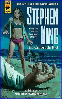 Stephen King Colorado Kid Illustrated Paul Mann 2x Original Cover Art