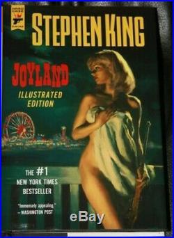 Stephen King Joyland Nude Blonde Book Cover Glen Orbik Original Signed Art