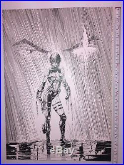 Steve Pentzer Razor #39 (Published Cover) ORIGINAL ART ORIGINALZEICHNUNG