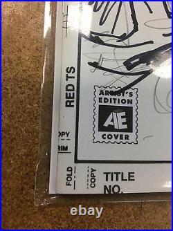 Teenage Mutant Ninja Turtles TMNT #51 Artist Edition Sketch Cover Original Art