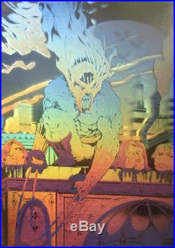 Tim Vigil Faust Hologram/Faust Color Cover Portfolio #4 Original Published Art