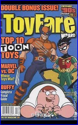 Toyfare Magazine #88A Cover by R Pope Original Art Wolverine Robin Family Guy