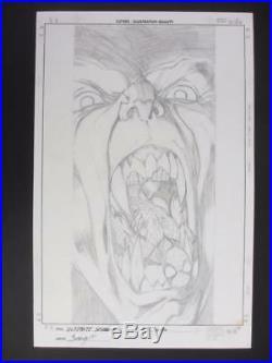 Ultimate Spider-Man #96 MARVEL 2006 (Original Art) Cover by Mark Bagley