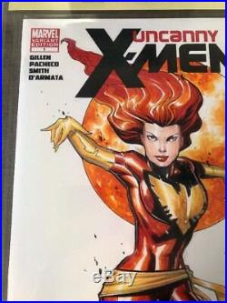 Uncanny X-men 1 Dark Phoenix Original Art Sketch Cover Jose VARESE & Billy Tucci