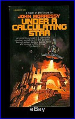 Under a Calculating Star Paul Alexander original vintage pb cover art 1978
