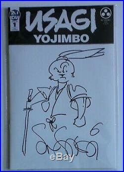 Usagi Yojimbo #1 Sdcc 2019 Katana Sketch Cover Original Art By Stan Sakai