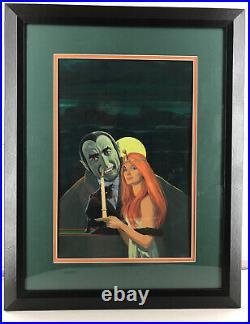 Vampire, Original Art Cover, Kensington Pub. Book 70's, The Witching Of Dracula
