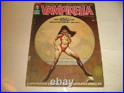 Vampirella #1 1969 Original -1st APP. Warren Publishing Frazetta Cover Art