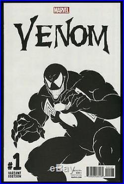 Venom 1 Todd McFarlane Sketch Variant Cover art Comic + bonus Original Venom art