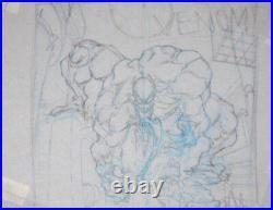 Venom Dark Origin 3 Cover Prelim By Angel Medina Original Art Spider-man