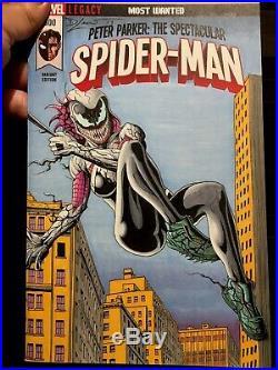 Venomized Spider-Gwen Original Art Sketch Blank Variant NM+ Spider-Man SPP #300