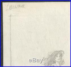 Vera Caspary LAURA with ROBERT MAGUIRE ORIGINAL COVER ART 1970 1st Avon UNIQUE