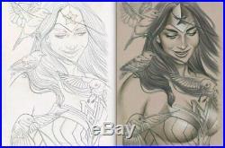 WONDER WOMAN #27 (DC 2017) Original Comic Cover Art By Jenny Frison