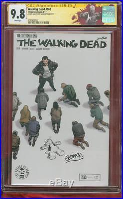 Walking Dead 168 CGC 9.8 SS Gerhard Cerebus Original art Variant sketch Cover