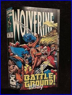 Wolverine #68 Page 4 Original Artwork By Mark Tex Texeira Marvel Comics 1993
