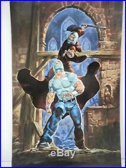 Wrestling, Místico # 17 Bazaldua Original Mexican Cover Art
