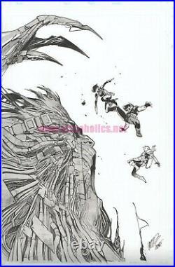 X-FORCE #3 Marvel Comics Original cover art by PEPE LARRAZ Signed